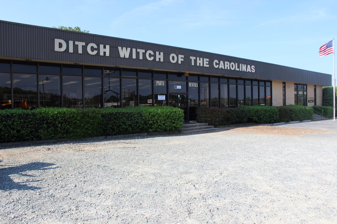 Ditch Witch Dealerships Charlotte, Columbia, Charleston & Greenville
